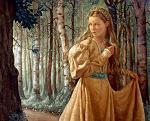 Dama del bosque - JPEG, 150x121 pixels, 6.8 KB