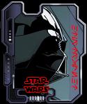 Darth Vader - PNG, 125x150 pixels, 9.2 KB