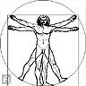 El Hombre de Vitrubio - JPEG, 96x96 pixels, 5.1 KB