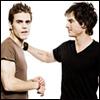 Vampire Diaries - Damon & Stefan Salvatore - JPEG, 100x100 pixels, 6.9 KB