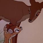 Bambi y su madre - JPEG, 150x150 pixels, 7.9 KB