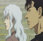 Gatsu y Griffith film - JPEG, 150x142 pixels, 9.4 KB
