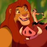 Simba, Timón y Pumba - JPEG, 150x150 pixels, 11.3 KB