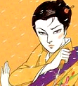 Shura Yuki Hime (Lady Snowblood) - PNG, 111x121 pixels, 30 KB