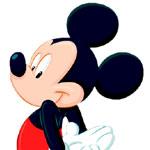 Mickey Mouse - JPEG, 150x150 pixels, 6.3 KB