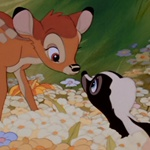 Bambi y Flor - JPEG, 150x150 pixels, 12.5 KB