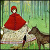Little red ridding hood - PNG, 100x100 pixels, 22.5 KB