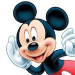Mickey Mouse - JPEG, 150x150 pixels, 8.6 KB