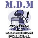 MDM CONTRA LA REPRESION POLICIAL - JPEG, 132x132 pixels, 15.6 KB