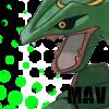 mavrayquaza - PNG, 100x100 pixels, 20.5 KB